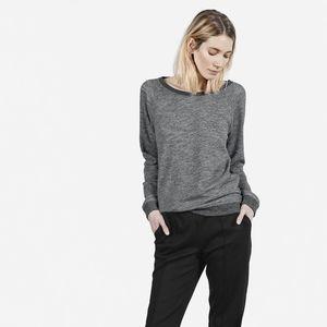 Everlane Grey Crew Neck Sweatshirt Size Small